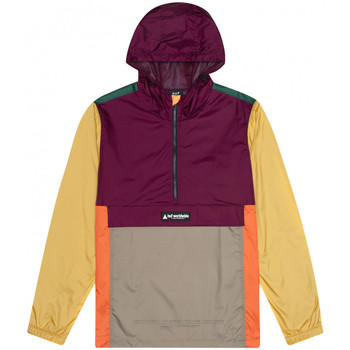 Textiel Heren Windjack Huf Jacket coyote trail anorak Bordeau
