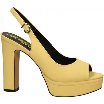Schoenen Dames Sandalen / Open schoenen Luciano Barachini BOTTALATO giallo