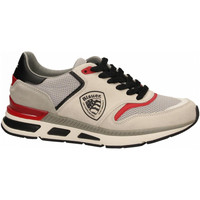 Schoenen Heren Lage sneakers Blauer HILO01 white-black-red