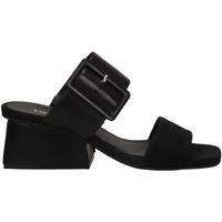 Schoenen Dames Sandalen / Open schoenen Carmens Padova LISA BELT TAFFY nero