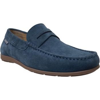 Schoenen Heren Mocassins Mephisto ALYON Fluweelblauw