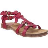 Schoenen Dames Sandalen / Open schoenen Kickers ANA Rood leer