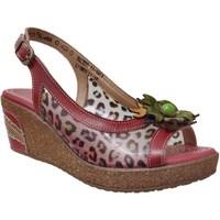 Schoenen Dames Sandalen / Open schoenen Laura Vita Hackeo 11 Rood