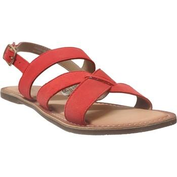 Schoenen Dames Sandalen / Open schoenen Kickers Diba-2 Oranje