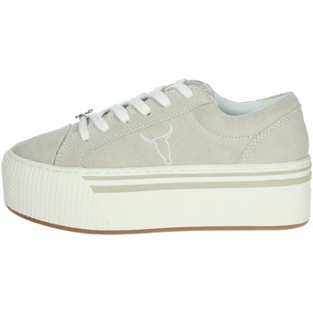 Schoenen Dames Lage sneakers Windsor Smith SHADY Ice grey