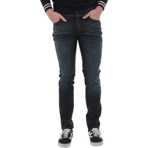 Textiel Heren Skinny jeans Jack & Jones 12166584 JJIGLENN JJORIGINAL JOS 123 ESP INDIGO KNIT Azul