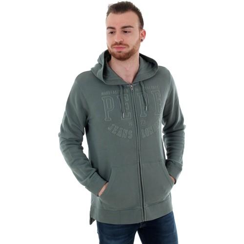 Textiel Heren Sweaters / Sweatshirts Pepe jeans PM581509 EVANS - 968 ECLIPSE Verde