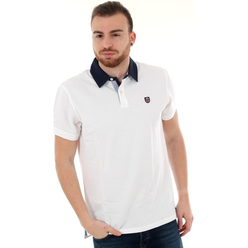 Textiel Heren Polo's korte mouwen Pepe jeans PM541208 PETER - 802 OPTIC WHITE Blanco
