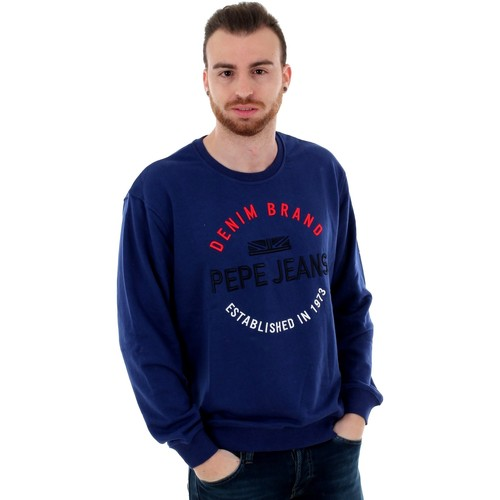 Textiel Heren Sweaters / Sweatshirts Pepe jeans PM581579 ERIC - 563 STEEL BLUE Azul