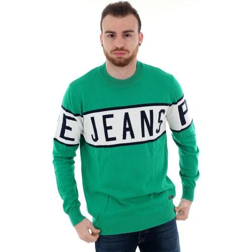 Textiel Heren Truien Pepe jeans PM701856 DOWNING - 671 WOODS Verde