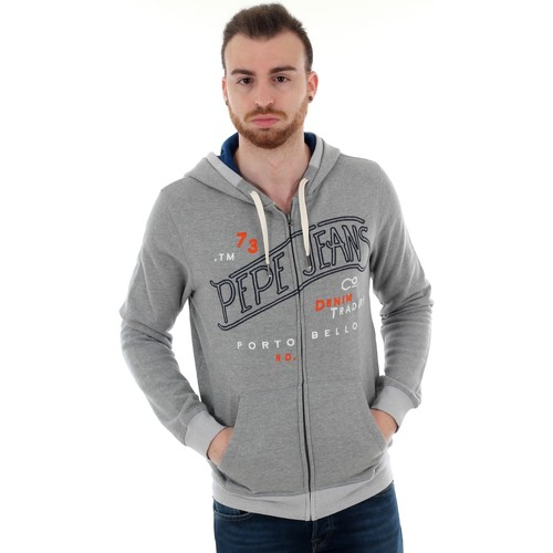 Textiel Heren Sweaters / Sweatshirts Pepe jeans PM581792 JERRY RO - 933 GREY MARL Gris
