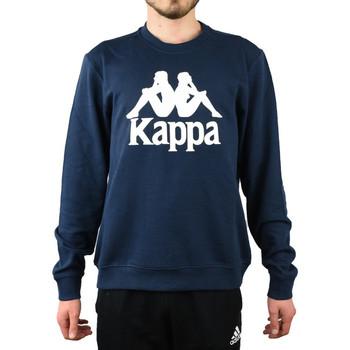 Textiel Heren Sweaters / Sweatshirts Kappa Sertum RN Sweatshirt Bleu marine