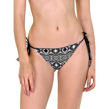 Textiel Dames Bikinibroekjes- en tops Lisca Omkeerbaar bikinibroekje Haïti Parelmoer Zwart-wit