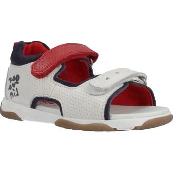 Schoenen Jongens Sandalen / Open schoenen Garvalin 202336 Wit