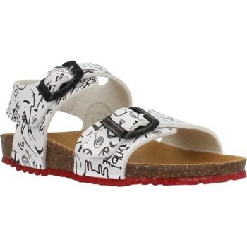Schoenen Jongens Sandalen / Open schoenen Garvalin 202472 Wit