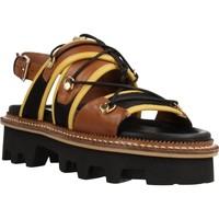 Schoenen Dames Sandalen / Open schoenen Elvio Zanon EL0901X Bruin