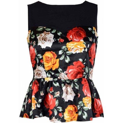 Textiel Dames Tops / Blousjes Guess W91H76WB4P0 Zwart
