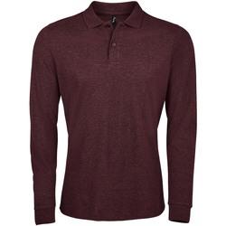 Textiel Heren Polo's lange mouwen Sols PERFECT LSL COLORS MEN Violeta