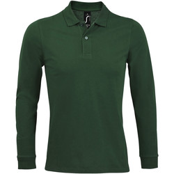 Textiel Heren Polo's lange mouwen Sols PERFECT LSL COLORS MEN Verde