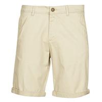 Textiel Heren Korte broeken / Bermuda's Jack & Jones JJWHITEPEPPER Beige