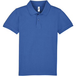 Textiel Kinderen Polo's korte mouwen Sols PERFECT KIDS COLORS Azul