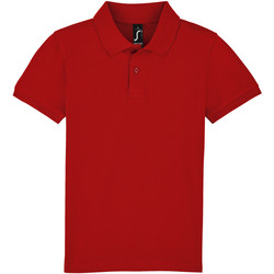 Textiel Kinderen Polo's korte mouwen Sols PERFECT KIDS COLORS Rojo