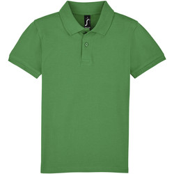 Textiel Kinderen Polo's korte mouwen Sols PERFECT KIDS COLORS Verde