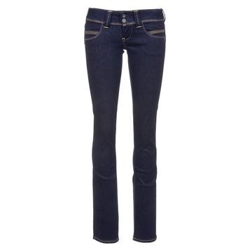 Textiel Dames Straight jeans Pepe jeans VENUS Blauw