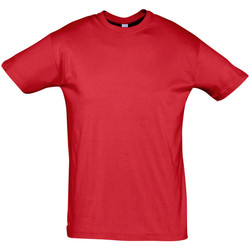 Textiel Heren T-shirts korte mouwen Sols REGENT COLORS MEN Rojo