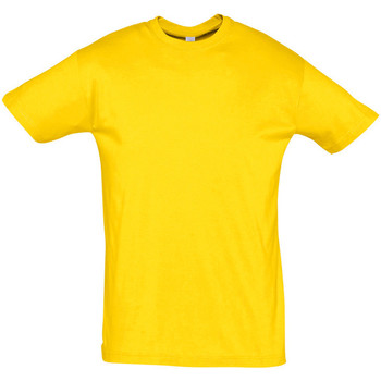 Textiel Heren T-shirts korte mouwen Sols REGENT COLORS MEN Amarillo