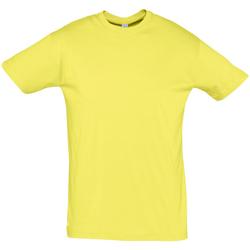 Textiel Heren T-shirts korte mouwen Sols REGENT COLORS MEN Amarillo