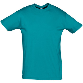 Textiel Heren T-shirts korte mouwen Sols REGENT COLORS MEN Azul