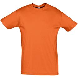 Textiel Heren T-shirts korte mouwen Sols REGENT COLORS MEN Naranja