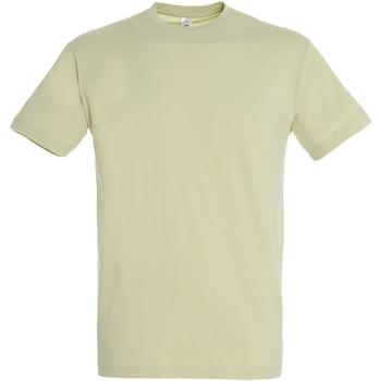Textiel Heren T-shirts korte mouwen Sols REGENT COLORS MEN Verde