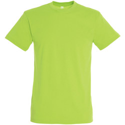 Textiel Heren T-shirts korte mouwen Sols REGENT COLORS MEN Verde