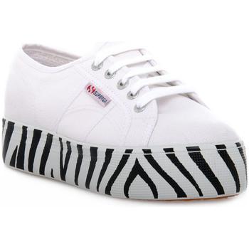 Schoenen Dames Lage sneakers Superga 901 OUTSOLE LETTERING Bianco