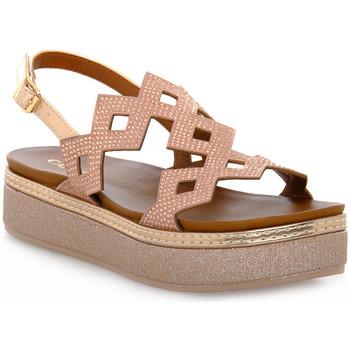 Schoenen Dames Sandalen / Open schoenen Café Noir CAFE ' NOIR 333 FRATE CON STRASS Rosa
