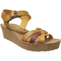 Schoenen Dames Sandalen / Open schoenen Mobils By Mephisto Maryline Geel leer