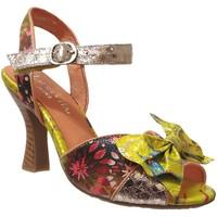 Schoenen Dames Sandalen / Open schoenen Laura Vita Hoco 04 Meerkleurig blauw leer