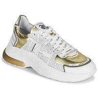 Schoenen Dames Lage sneakers John Galliano 3646 Wit / Goud