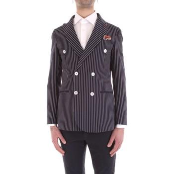 Textiel Heren Jasjes / Blazers Mulish VESPA-GKS907 Blu