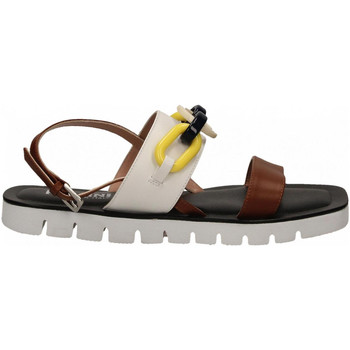 Schoenen Dames Sandalen / Open schoenen Pollini Silver POLLINI ALESS20 bianco-cuoio
