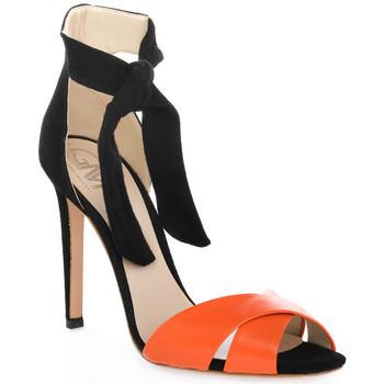 Schoenen Dames Sandalen / Open schoenen Gianni Marra NAPPA ARANCIO Rosso