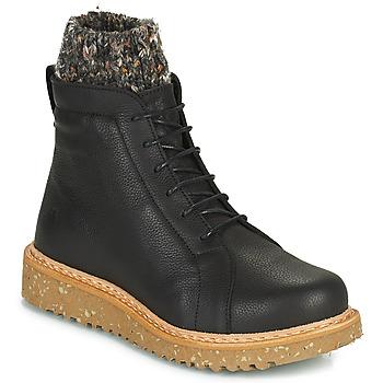 Schoenen Dames Laarzen El Naturalista PIZARRA Zwart