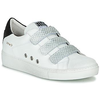 Schoenen Dames Lage sneakers Semerdjian VIP Wit / Zilver