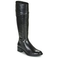 Schoenen Dames Hoge laarzen Unisa ENERIZ Zwart