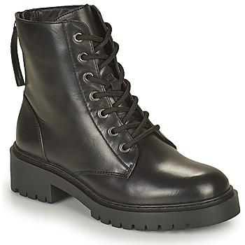 Schoenen Dames Laarzen Unisa JISPER Zwart