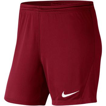 Textiel Dames Korte broeken / Bermuda's Nike Park III Knit Short NB Women Rot