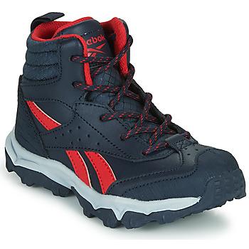 Schoenen Jongens Lage sneakers Reebok Sport RUGGED RUNNER MID Zwart / Rood