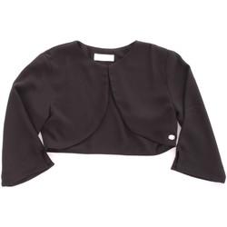 Textiel Meisjes Vesten / Cardigans Byblos Blu BJ14937 Nero